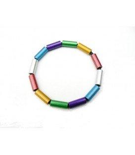 Tjonge Jonge gekleurde ringen armband