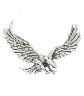 Adelaar broche in antiek zilver kleurig