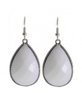 Witte oorbellen, Oorbellen, Oorbellen Wit-, cremekleurig kopen, Wit-, cremekleurig Oorbellen online kopen, fashion Oorbellen,